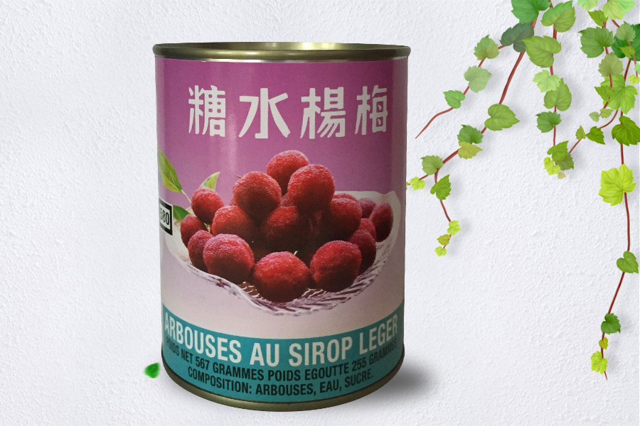 Canned Arbutus in syrup